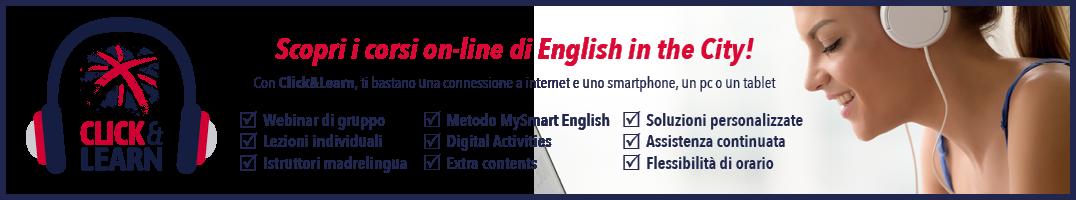 Click & Learn | Corsi di inglese on-line
